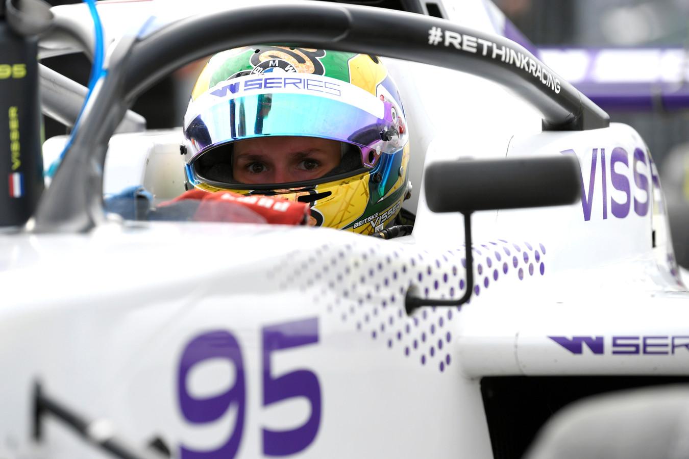 Beitske Visser in actie op het TT Circuit in Assen, eerder dit jaar.