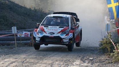 Evans leidt in Rally van Zweden, Neuville moet achtervolgen