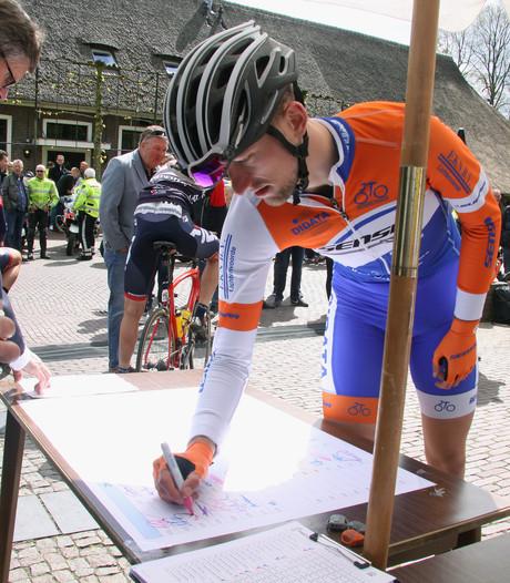 Wim Kleiman tankt vertrouwen voor Ronde van Overijssel