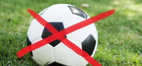 Overzicht afgelastingen én programma: streep door veel voetbalduels