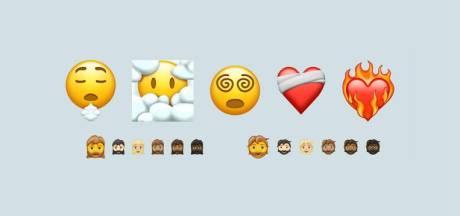 Met je hoofd in de wolken, rondtollende ogen en een vrouw met een baard: nieuwe lading emoji's goedgekeurd