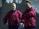 Ronald Koeman was assistent van Louis van Gaal bij Barcelona van 1998 tot januari 2000, toen hij hoofdtrainer werd bij Vitesse.