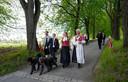 De Noorse koninklijke familie.