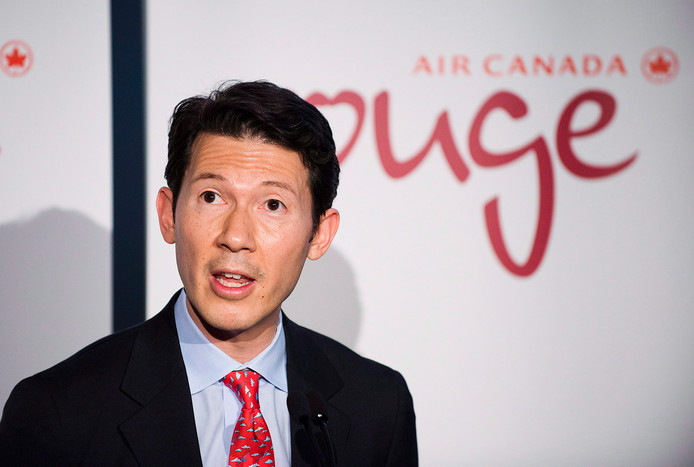 Ben Smith werd gisteren gepresenteerd als nieuwe bestuursvoorzitter van Air France-KLM.