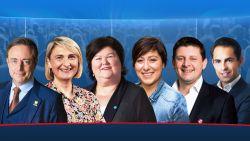 KIJK LIVE. Volg hier zes kopstukken tijdens hun verkiezingsdag