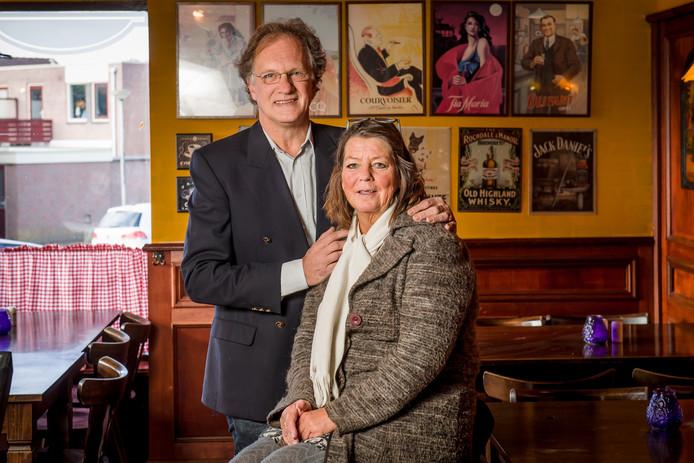 Luuk Klinkert en Jacqueline Oranje. Foto: Lars Smook
