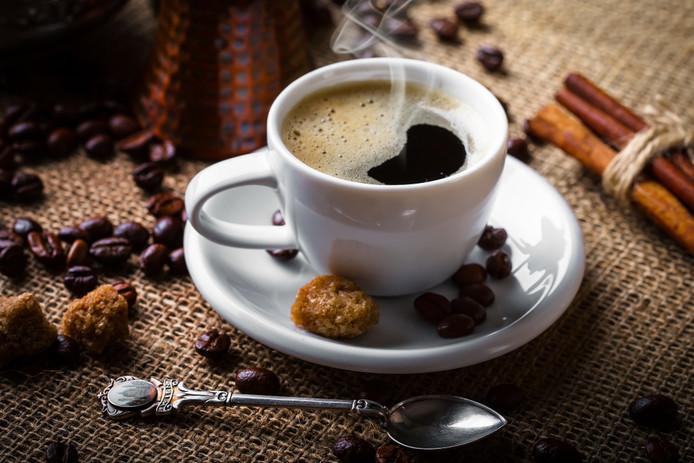 Veel mensen beginnen de dag met koffie.