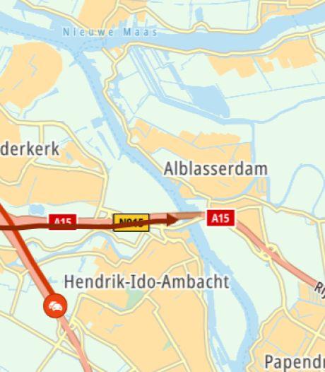 Ongeluk bij Noordtunnel; flinke file richting Gorinchem