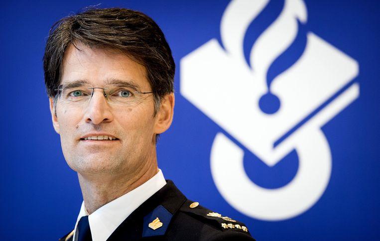 De nieuwe korpschef van de Nationale Politie Erik Akerboom. Beeld anp