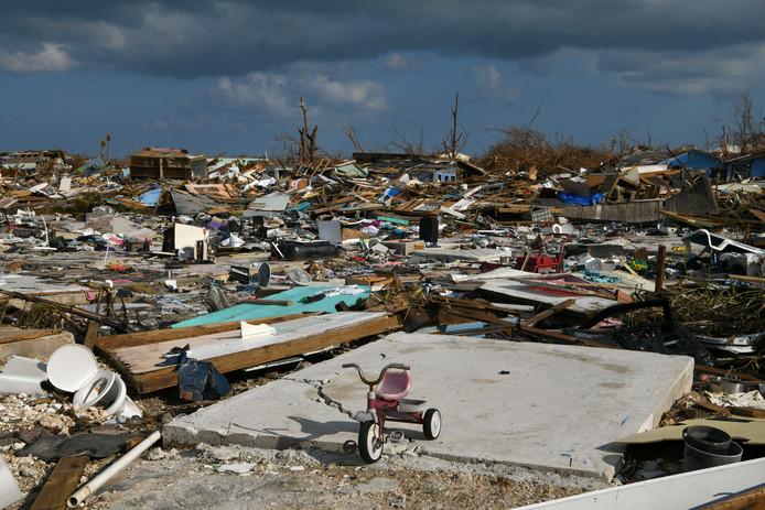 Vooral de Abaco-eilanden zijn zwaar getroffen.