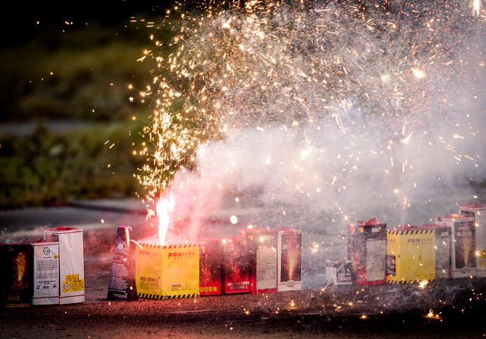 Vuurwerk. Foto ter illustratie.