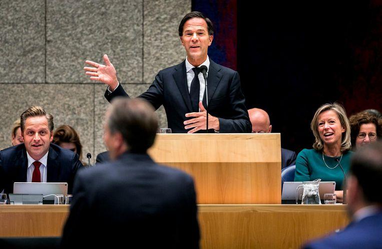 Mark Rutte op de tweede dag Beeld ANP