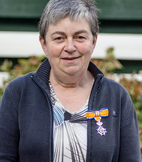 Berdien van Sluijsveld uit Hilvarenbeek benoemd tot Lid in de Orde van Oranje-Nassau