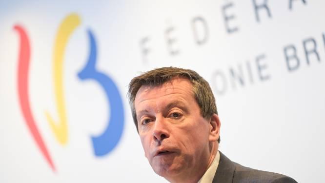 Franse gemeenschap zal nooit met evenwicht aanknopen, zegt Begrotingsminister