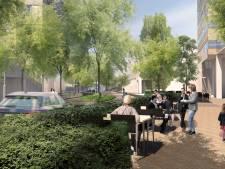 Auto nog net welkom op stadsboulevard Vestdijk in Eindhoven