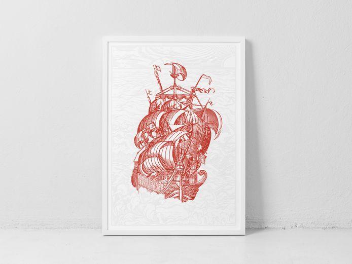 The Print Project: de print van Broos Stoffels.