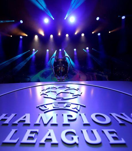 Dit is de potindeling voor de loting van de Champions League