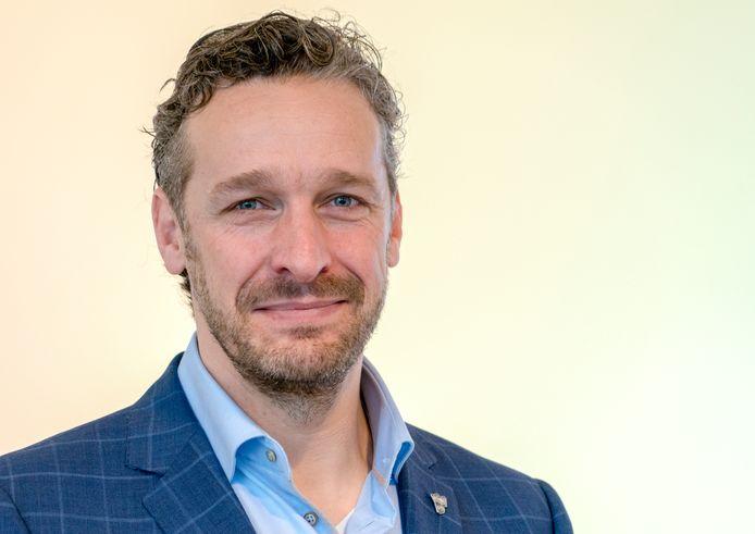 Mark Snoeren, vanaf vandaag behalve gemeenteraadslid in Nieuwegein ook lid van de Tweede Kamer voor de VVD.