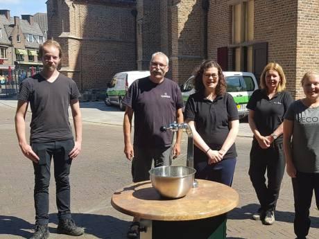 Café De Vlaamse Reus en Brownies&downieS delen samen een terras op Wageningse Markt