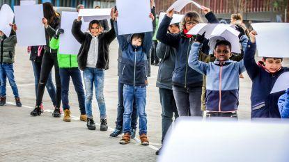Flashmob op't Zand tegen geweld