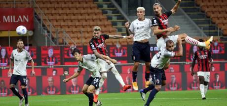 Zlatan zorgt met twee goals tegen Bologna voor prima competitiestart AC Milan