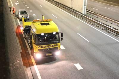 Automobilist valt in slaap achter stuur op A12 in Den Haag