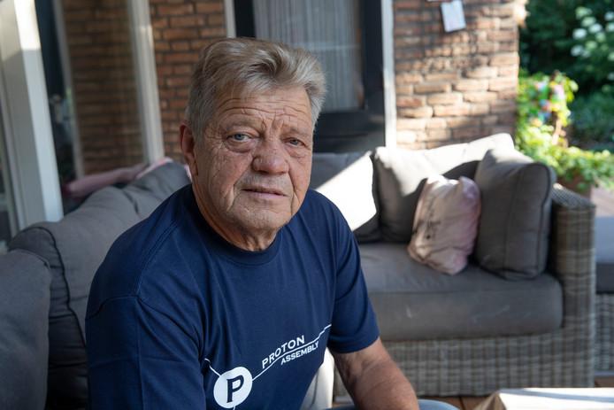 Frans van Diepen in Geldrop was wielercoach van Steven Kruijswijk.