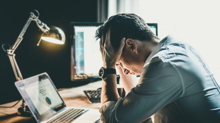 stress work telewerken werk