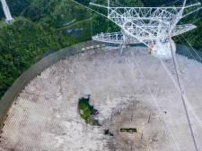 """Le télescope géant d'Arecibo, vu dans un """"GoldenEye"""", s'est effondré"""