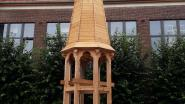 Twee schooljaren hard aan gewerkt: 21 leerlingen VITO reconstrueren oude torenspits van Antwerps klooster