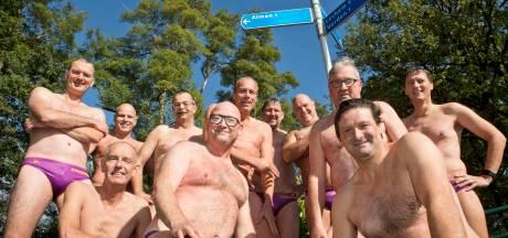 Almenaren willen 'stiekem' meezwemmen met Maarten van der Weijden