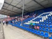 FC Den Bosch-fans 'maken meters' op de oude Oosttribune