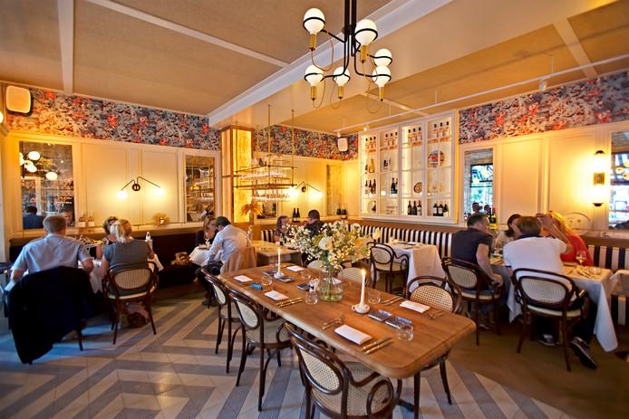 Restaurant Pampelonne aan het Van Coothplein in Breda.