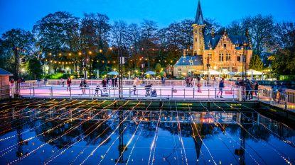 Zo mooi is Wintergloed: sprookjesachtig Minnewater, kleurrijke hemellichamen en lichtbrug in Koning Albert I-park
