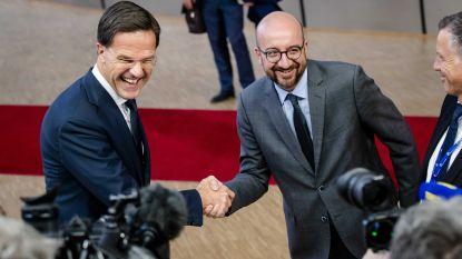 Zes premiers, waaronder Charles Michel,  beraden zich vrijdag over Europese topjobs
