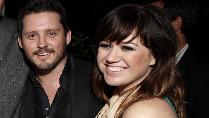 Kelly Clarkson en haar echtgenoot Brandon Blackstock.