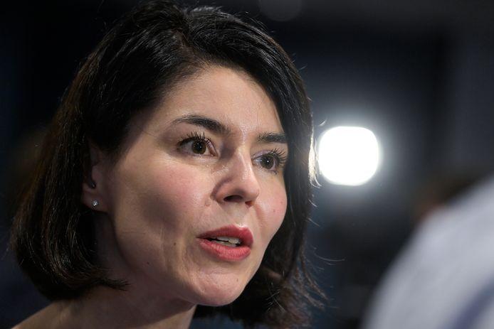 Valérie Glatigny, ministre des Sports.