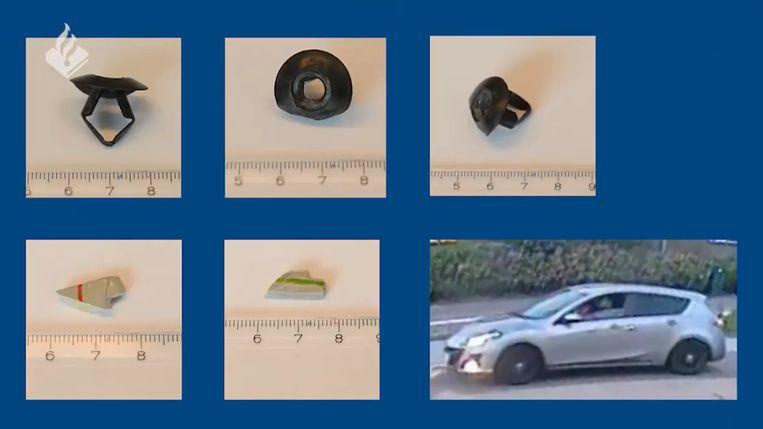 De politie wil meer weten over plastic deeltjes die zijn gevonden in de berm van de dijk waar Tamar werd gevonden. Beeld Politie