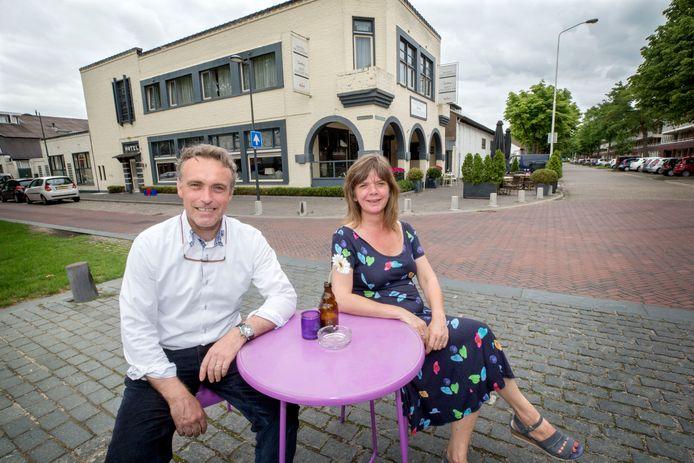 Frank en Jessica Schrauwen stoppen na 16 jaar met hun restaurant en hotel Het Packhuys in de Belcrum in Breda. Foto: Joyce van Belkom/Pix4Profs