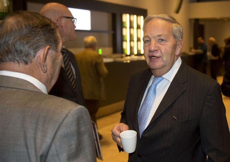 Collee trad per 6 september 2015 af in verband met zijn benoeming tot algemeen directeur. Beeld ANP