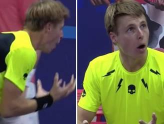 """""""Ik had het ook op de baan kunnen doen, hoor"""": stoppen slaan door bij tennisser omdat hij straf krijgt na... bezoekje aan toilet"""