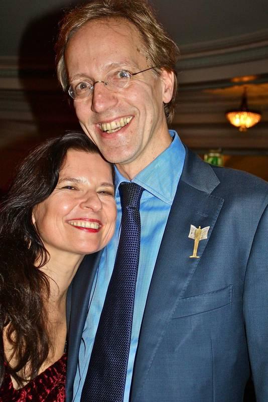 Robbert Dijkgraaf en zijn vrouw Pia de Jong.