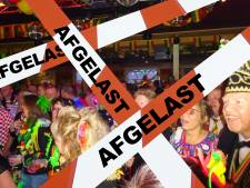 Streep door carnaval in Vlijmen; wel een Knotswilger en het dorp versieren