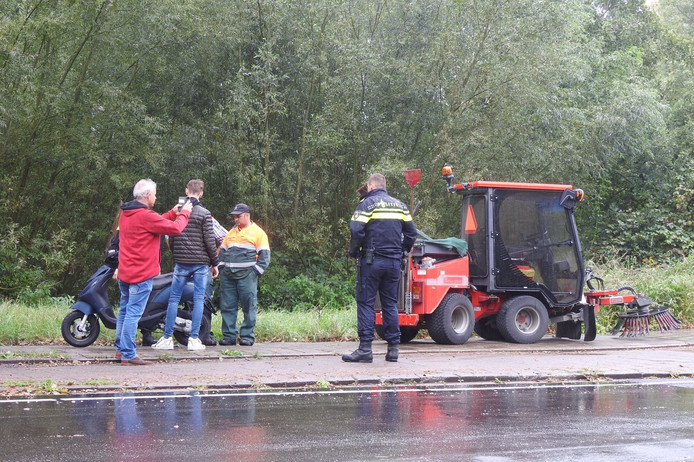 Ongeval in Eindhoven.