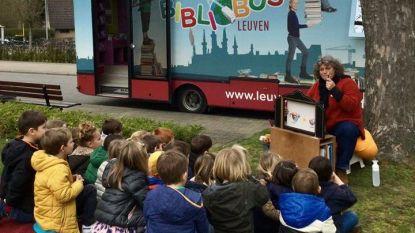 Internationaal bibliobusfestival BUZZ palmt Ladeuzeplein in
