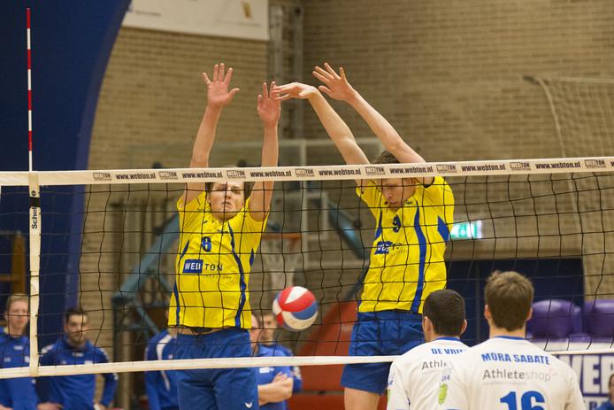 Webton Hengelo won het inhaalduel tegen Dynamo Apeldoorn.