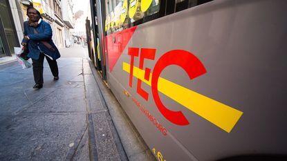 In Charleroi rijden geen bussen of metro door staking