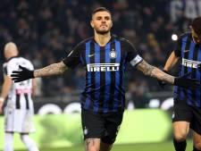 Inter verstevigt derde plaats dankzij Icardi