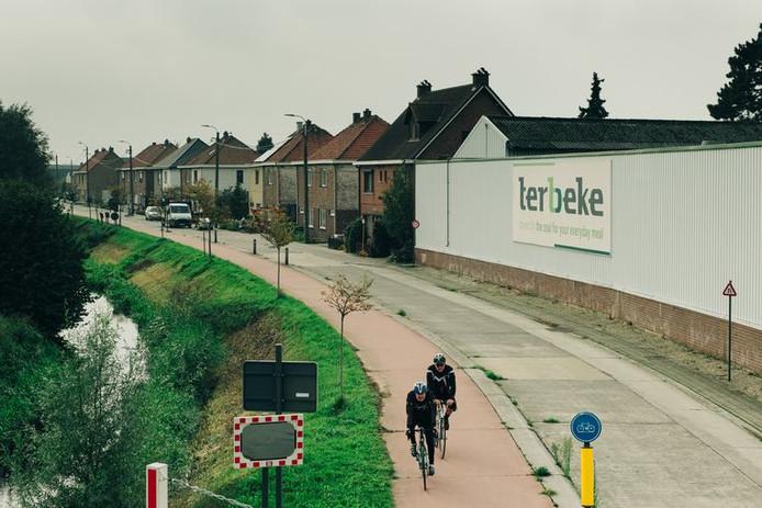 Une usine du groupe Ter Beke à Beke, Lievegem, près de Gand.