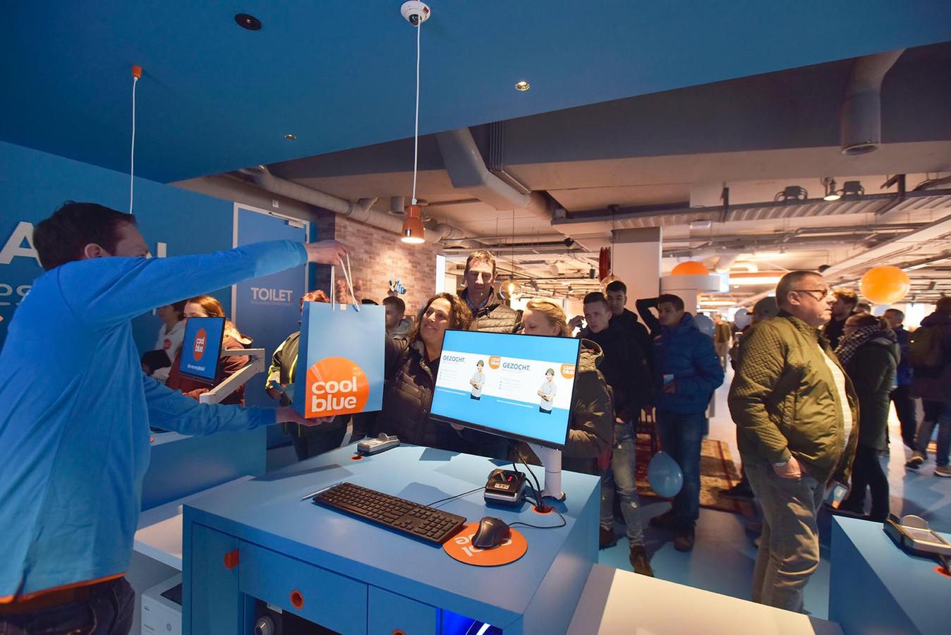 De XXL-winkel in Tilburg is open.